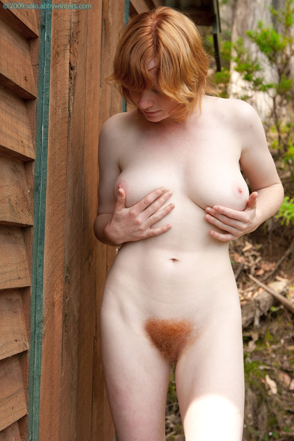 Know she redhair bush big tits camera guy