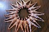 Sexy girls doing yoga naked