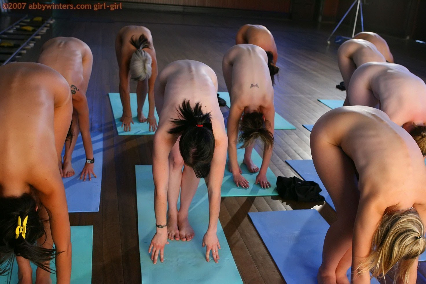 Abby winters yoga girls naked have hit