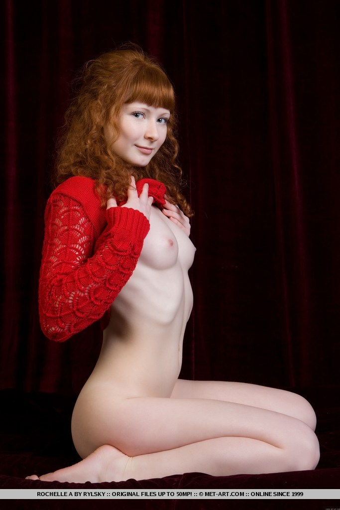 Red bush with pale redhead