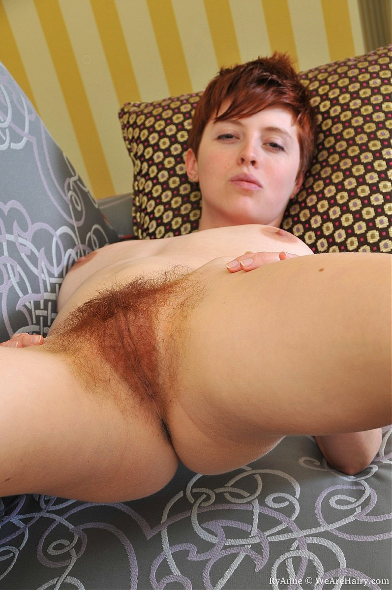 Natural red hair porn
